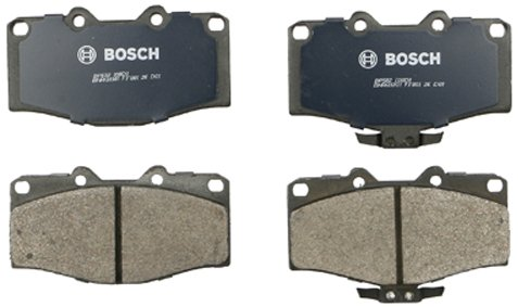 Bosch BP502 QuietCast Premium Semi-Metallic Disc Brake Pad Set For 1996-1997 Lexus LX450; 1991-1997 Toyota Land Cruiser; Front