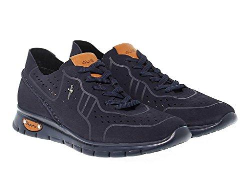 Cesare Paciotti Sneakers Uomo WU294BLUE Camoscio Blu