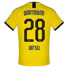 Puma Maillot Borussia Dortmund Home Witsel 28 2019-2020 (Impression Officielle)