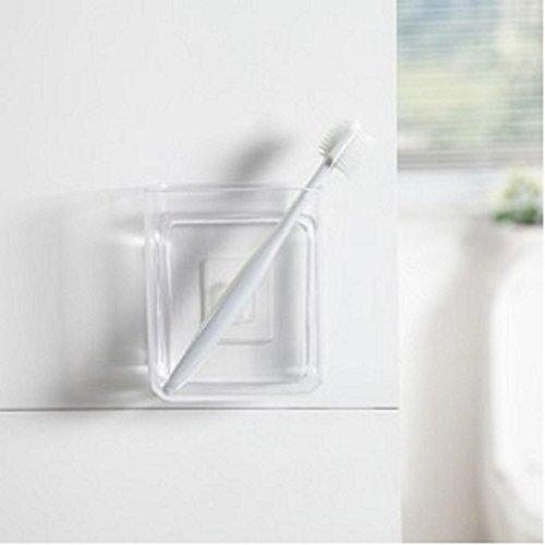 UXTIS Free Nail Wall-mounted Storage box, Plastic,Small, gray