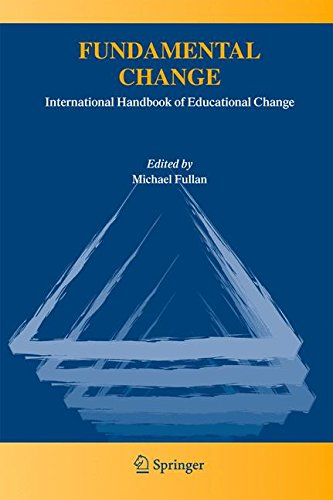 Fundamental Change: International Handbook of Educational Change