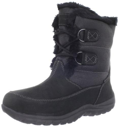 Shortie Lisa up Ii Boot Women's Black Lace Snow MOUNTREK qRPp1p
