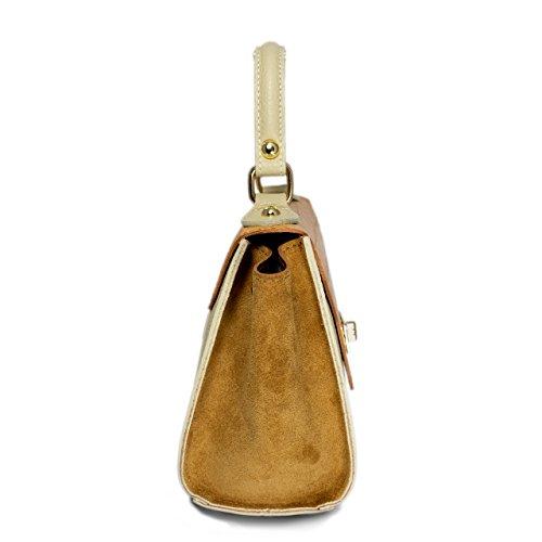 véritable en BARONI occasion Mikelly main Sac Bandoulière Sac chaque et Modèle pour femmes parfaite pièce MASSIMA Épaule à cuir Une moderne intemporelle 8dYq81