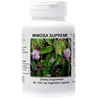Supreme Nutrition Mimosa Supreme, 90 Caps - Organic Mimosa Pudica Seed Capsules