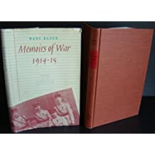 Memoirs of War, 1914-15 (English and French Edition)