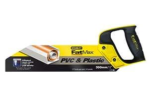 Stanley STA217206 - Serrucho para PVC y plástico 300mm FatMax