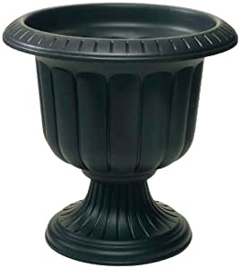 Novelty 38148 Classic Urn, Black, 14-Inch