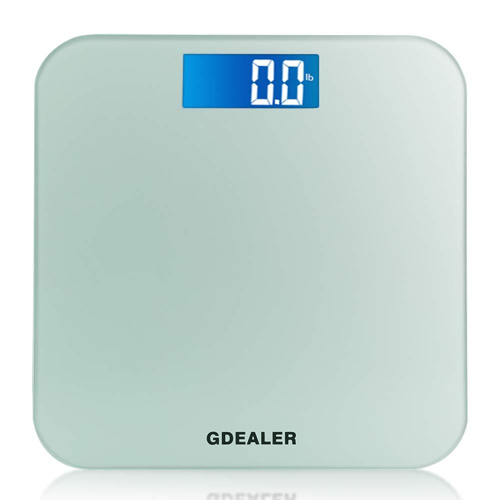 Amazon.com: GDEALER Body Scale 400lb/180kg Bathroom Scale Digital ...