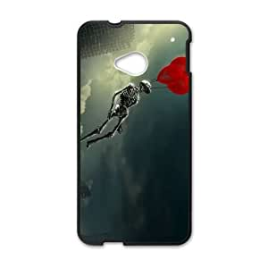 HTC One M7 Cell Phone Case Black 3D Abstract love OJ591658