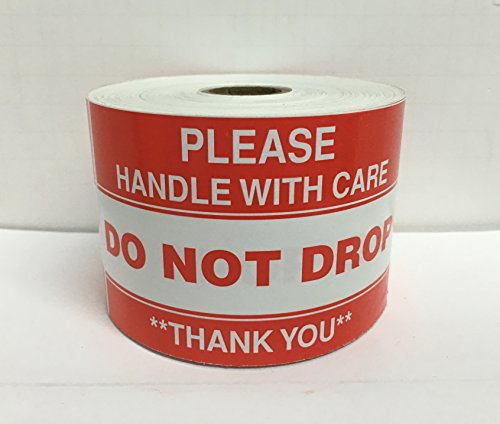 Please Handle Shipping Mailing Stickers