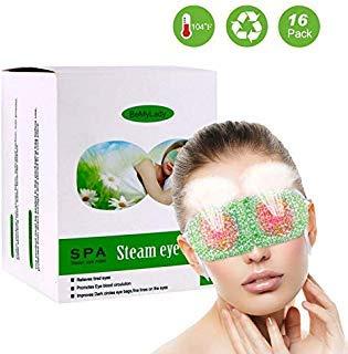 - Steam Eye Masks, ProCIV 16PCS Warm Eye Mask, Hot Lavender Sleep Eye Mask for Dry Puffy Fatigue Eyes