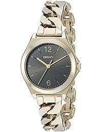 DKNY Women's NY2425 PARSONS Gold Watch