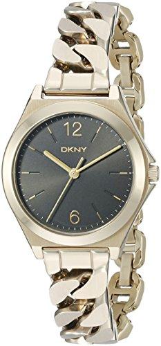 (DKNY Women's NY2425 PARSONS Gold Watch)
