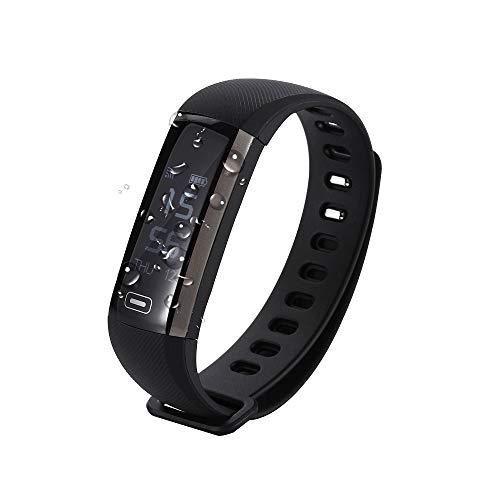 EMEBAY Pulsera Inteligente Impermeable Reloj Inteligente Fitness Tracker Presión de la sangre Oxígeno Oxímetro Pasómetro Pulsómetro Ritmo Ritmo Seguimiento ...