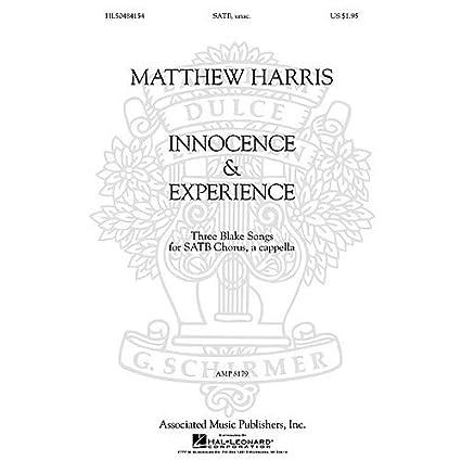 Amazon com: Matthew Harris - Innocence & Experience (Three Blake
