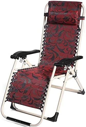 ADHW Reclinable, sillas reclinables Fuera, Tumbona, jardín al Aire Libre Mecedora Silla de Descanso, Jardín Tumbona Ligera, Tumbona: Amazon.es: Hogar