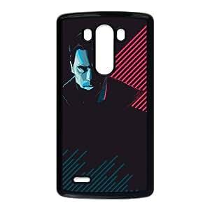 Terminator 001 funda LG G3 Negro de la cubierta del teléfono celular de la cubierta del caso funda EVAXLKNBC17683