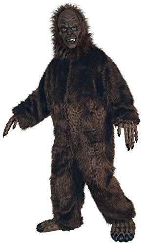 Adult Big Foot Costumes - Seasons Hk Mens Deluxe Big Foot Adult Costume Brown Standard