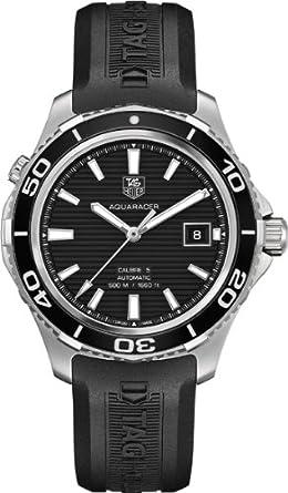 amazon com jacob time inc wak2110 ft6027 tag heuer aquaracer 500 jacob time inc wak2110 ft6027 tag heuer aquaracer 500 automatic mens watch
