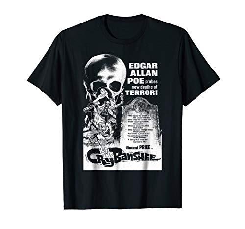 Blackcraft Edgar Allan Poe Cry of the Banshee T-Shirt Dark -