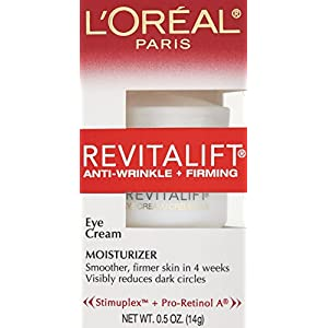 L'Oréal Paris Revitalift Anti-Wrinkle + Firming Eye Cream Treatment, 0.5 fl. oz.