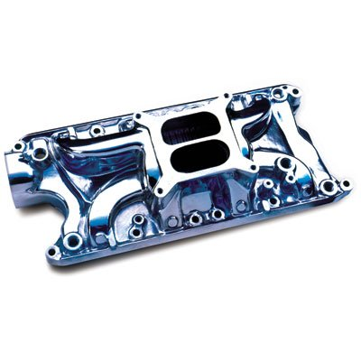 (Professional Products 54000 Polished Typhoon Intake Manifold for Small Block Ford)