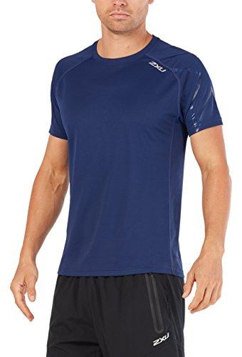 marino corta U azul x Active mujer azul camiseta manga Bsr para marino de 2 BTP50nxwqB