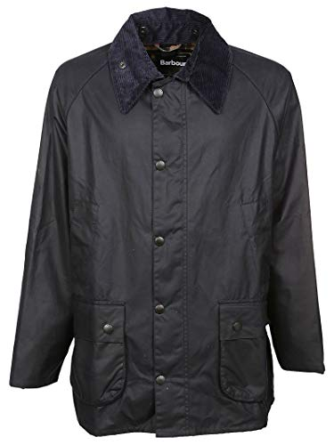 Barbour Men's Bacps0014ny91 Blue Polyester Outerwear Jacket