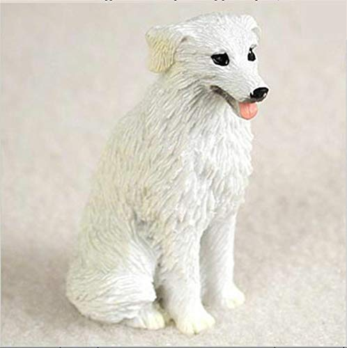 YesKela Kuvasz Mini Hand Painted Figurine