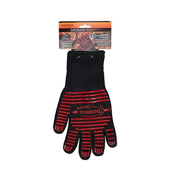 Durandal Guanti per Barbecue 1 unità Ove' Glove | Guanti ignifughi Accessori Barbecue | Guanti BBQ Resistenti Fino a 250… 1 spesavip