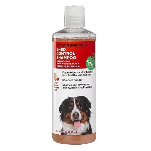 GNC Pets Shed Control Shampoo - Sweet Cherry Almond Scent 17 oz(s) (Gnc Pets Shampoo)