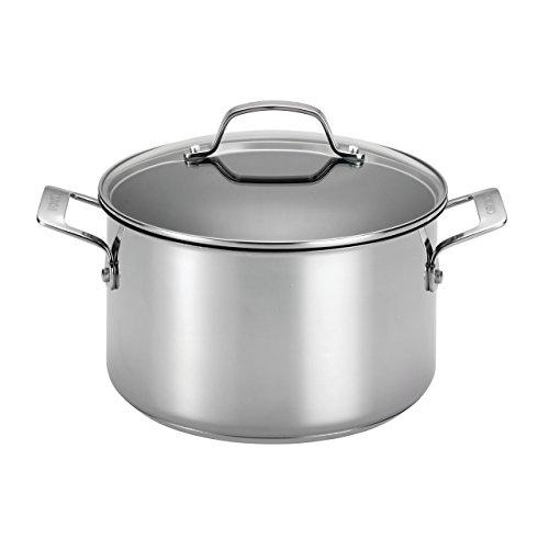 41uiAXQLqdL - Circulon Genesis Stainless Steel Nonstick 10-Piece Cookware Set