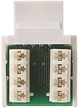 Cables 10Pcs CAT5E UTP Network Module Tool-Free RJ45 Connector Socket Adapter New and Cable Length: Other