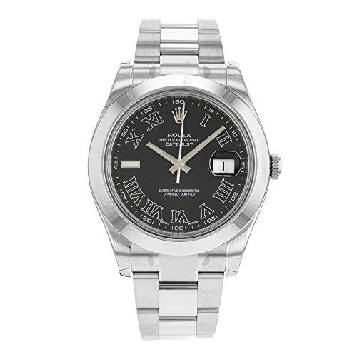 Rolex-116300-Reloj-para-hombres-correa-de-acero-inoxidable-color-plateado