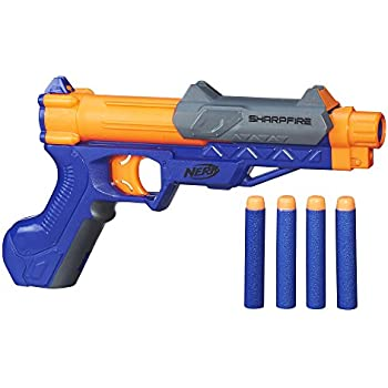 For kids over eight years old, the size and weight of the N-Strike SharpFire  Blaster is perfect.