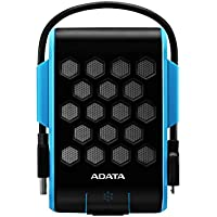 ADATA HD720 2TB USB 3.0 Waterproof/ Dustproof/ Shock-Resistant External Hard Drive, Blue (AHD720-2TU3-CBL)