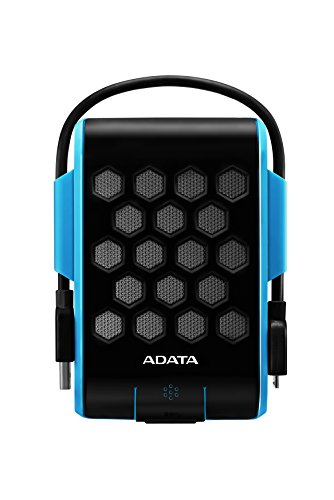 ADATA HD720 1TB USB 3.0 Waterproof/Dustproof/ Shock-Resistant External Hard Drive, Blue (AHD720-1TU3-CBL)