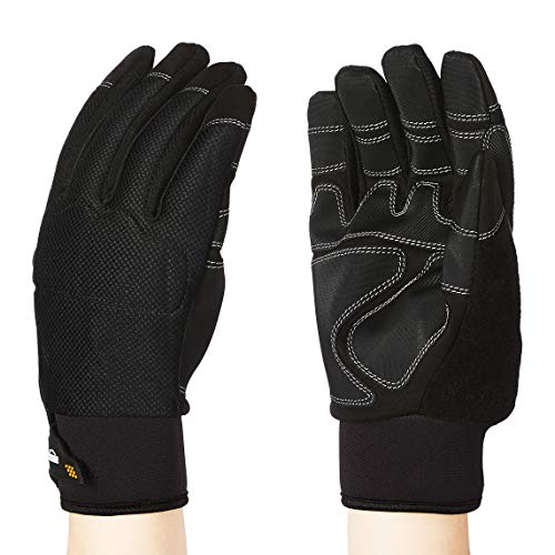 AmazonBasics Premium Waterproof Winter Plus Performance Gloves - Extra Extra Large, Black