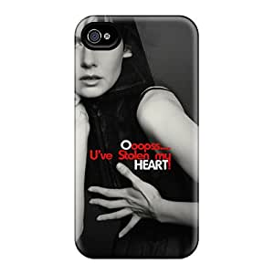 Durable Heart Back Case/cover For Iphone 4/4s