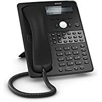 Snom D725 3916 HiRes Display 12btn Gig Phone Black