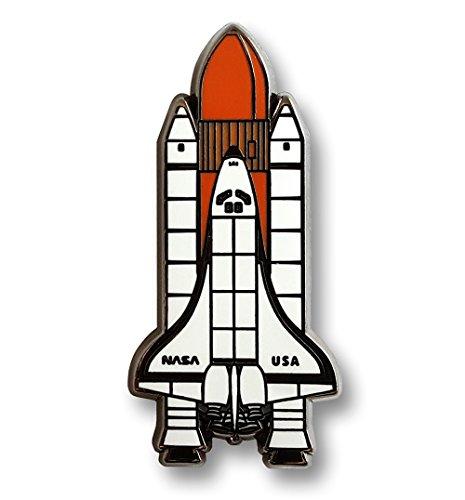 Pinsanity Space Shuttle Enamel Lapel Pin