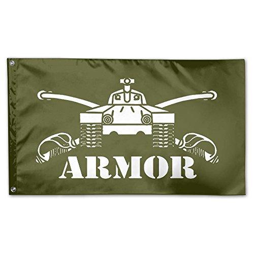 Army Armor Branch Insignia Military Veteran 100% Polyester H