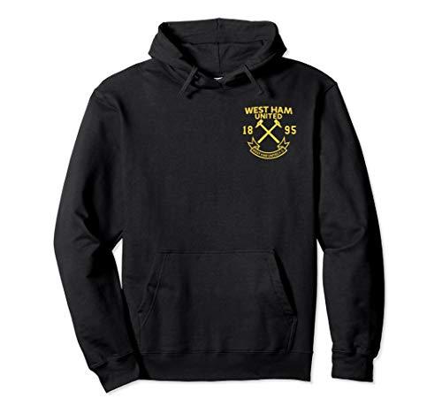 West Ham United Chest Crest Pullover Hoodie (West Ham Hoodie)