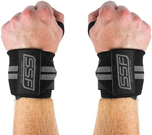 PRO WEIGHT LIFTING SINGLE LOOP STRAPS GYM TRAINING GLOVES WRIST SUPPORT BAR WRAP
