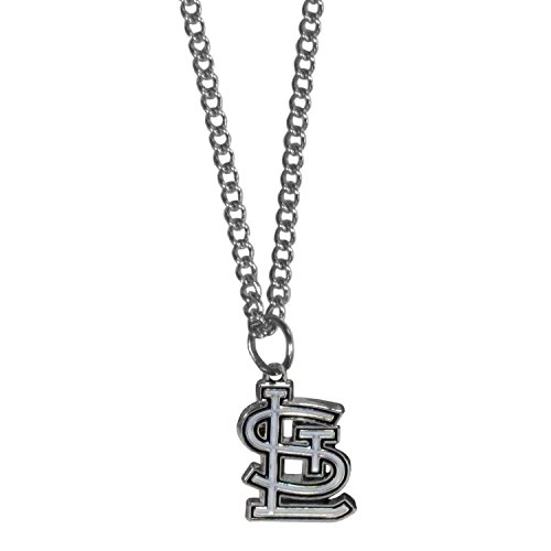 Siskiyou MLB St. Louis Cardinals Women's Chain Necklace with Small Pendant, 20