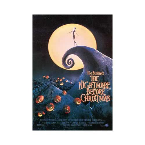 The Nightmare Before Christmas Style A1 Movie Poster