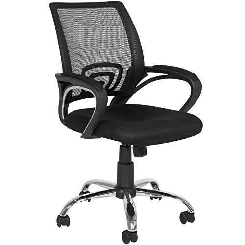 Ergonomic Mesh Computer Office Desk Task Midback Task Chair w/Metal Base New