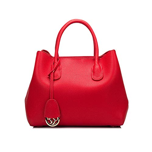 sac Sac Litchi à bandoulière Red sac Bag main PU bandoulière Bag Big Messenger ouvert à à TTBrqw8