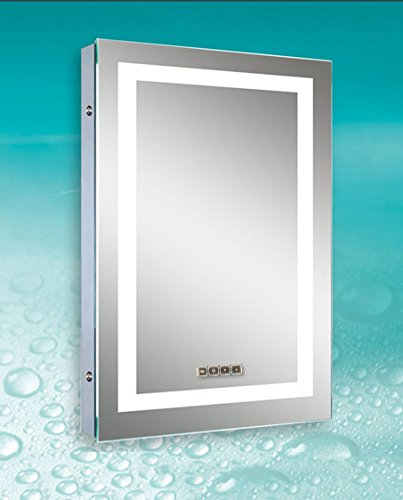 Dimmable LED Bordered Illuminated Mirror by Lighted Image (Image #7)