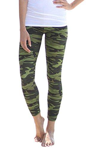 PinkWind Geometric Printed Stretchy Leggings